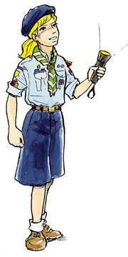Uniformes de Girl Scouts para adultos